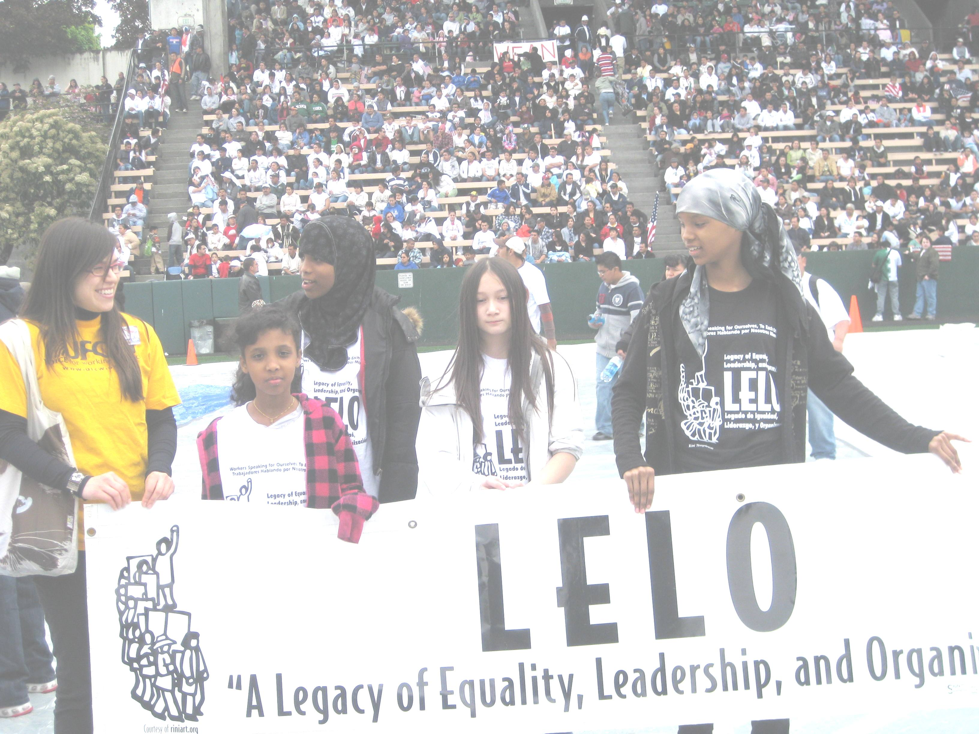 LELO Youth Council May 1, 2010 Seattle Center Stadium